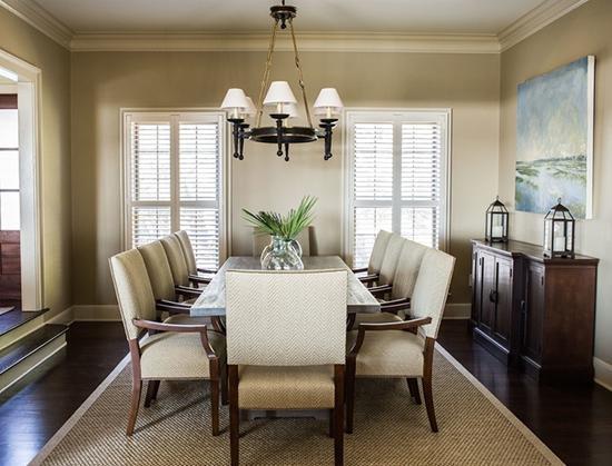 餐厅设计欣赏:属于全家人的快乐时光,一起在餐桌度过吧