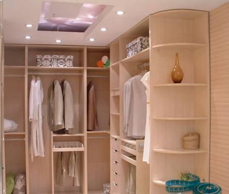 转角衣柜设计的三种实用类型图片