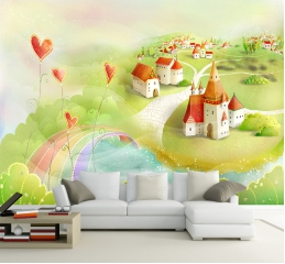 儿童房间墙壁装饰方案介绍