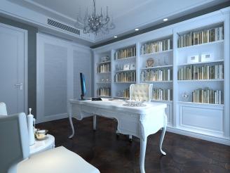 简欧书房设计