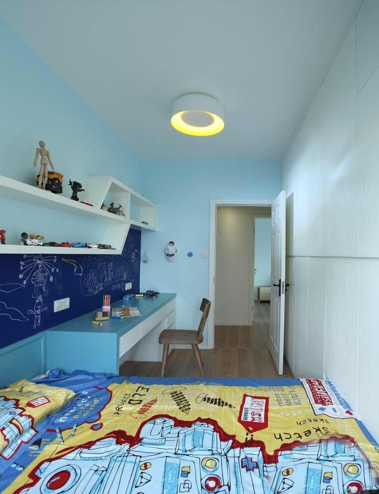 不同风格的儿童房间装修效果图