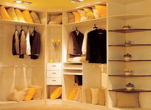 几种不同家装卧室衣柜效果图推荐