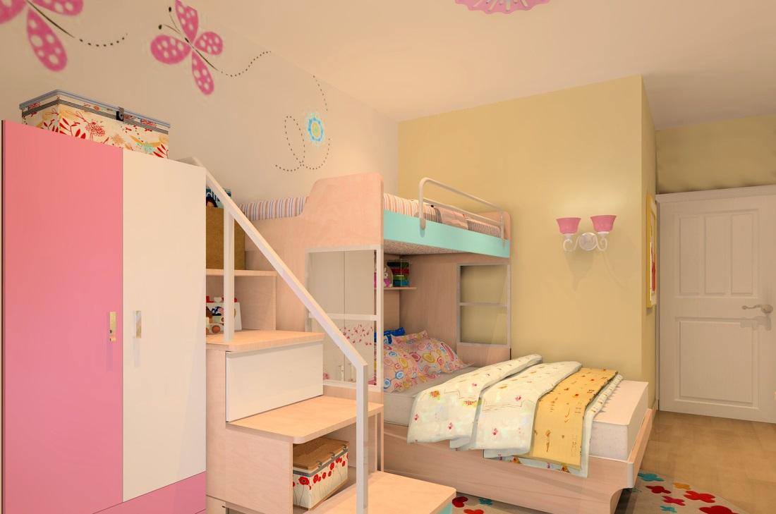 哈哈哈,今天小编给大家发来的几款 儿童房装修还不错,蛮多重新翻新的