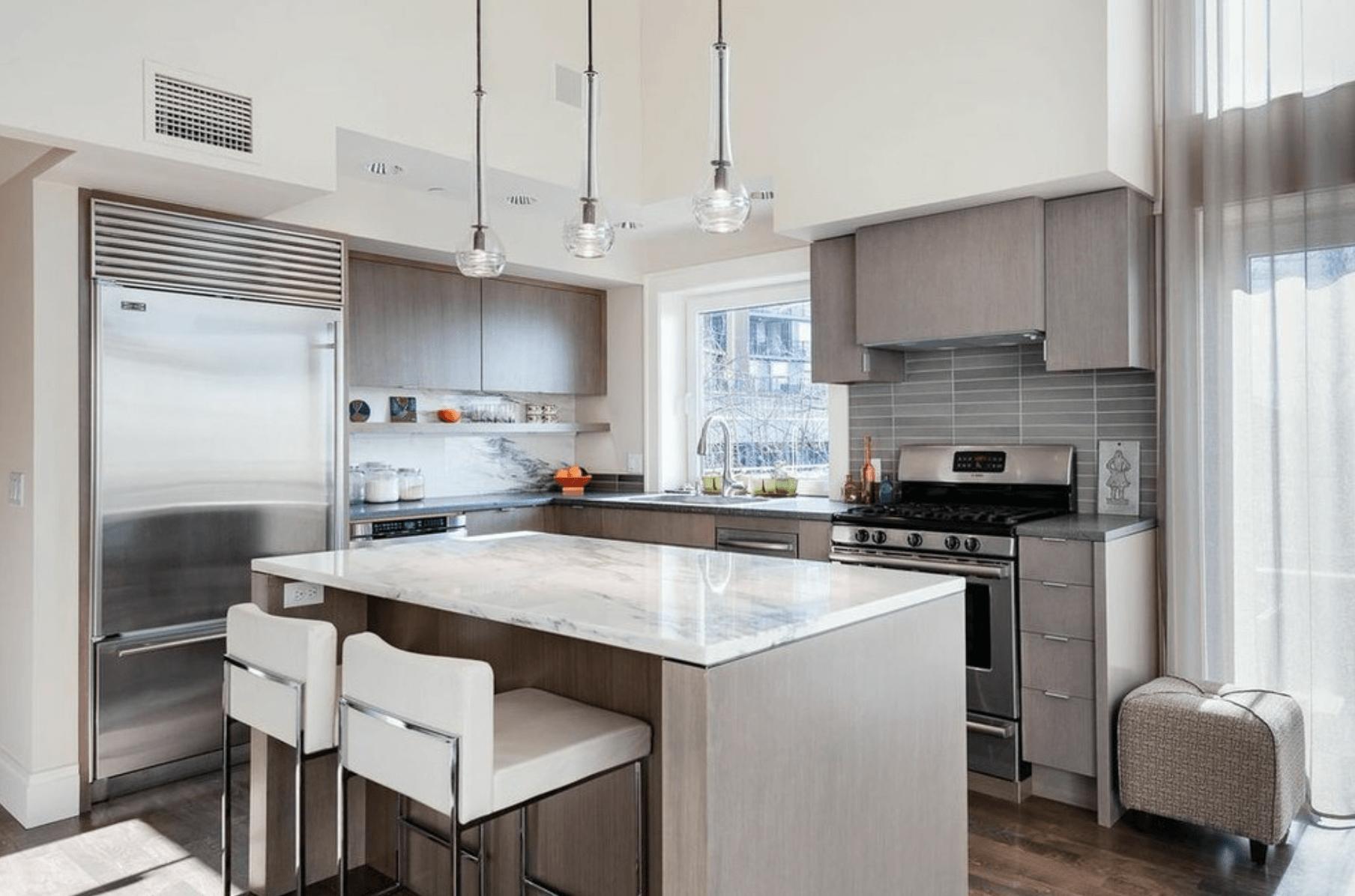 厨房橱柜颜色选择,哪种受欢迎?