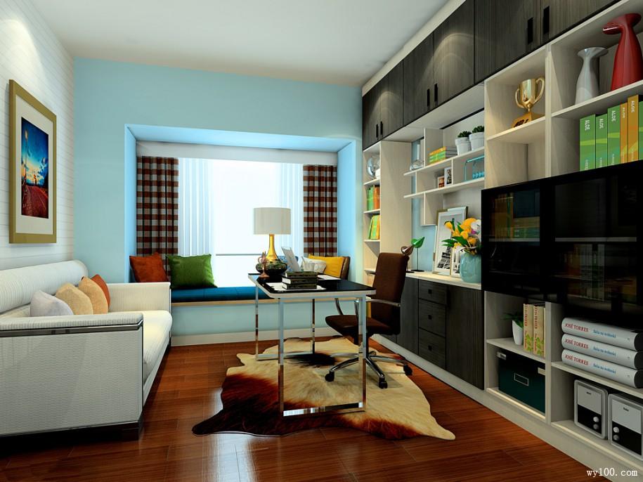 书房设计-维意家具网上商场