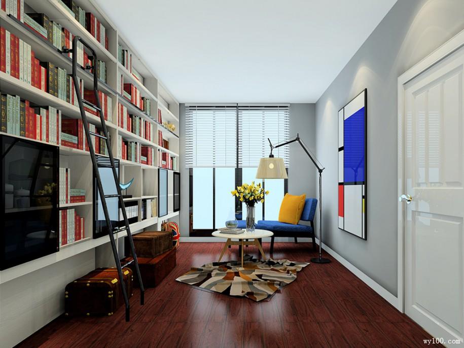 家装简易书架-维意定制