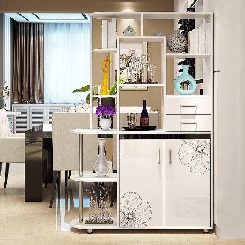 厨房酒柜隔断的样式如何选择