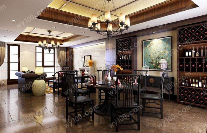 中式酒柜--维意定制网上商城