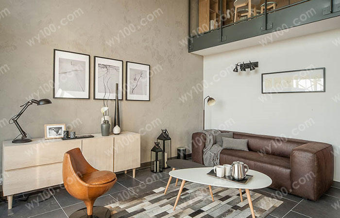 小户型客厅装修空间--维意定制网上商城