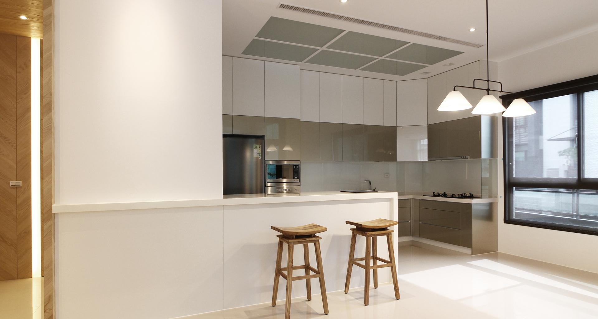 直筒厨房装修--维意定制网上商城