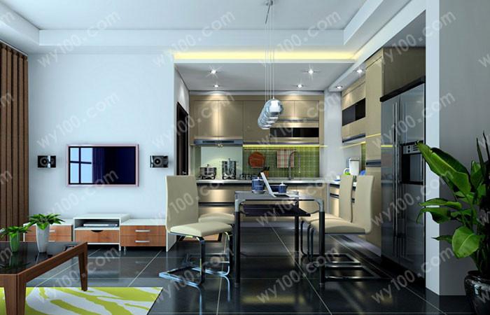 78平米厨房装修--维意定制网上商城