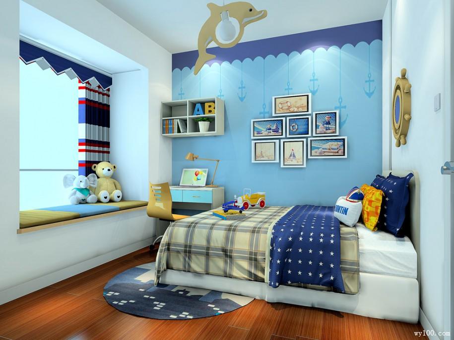 小户型儿童房装修方案