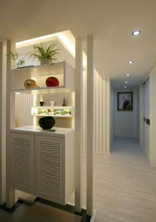 室内装修门口鞋柜装修--维意定制网上商城