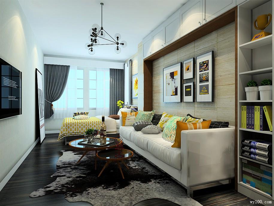 新古典风格客厅装修的说明