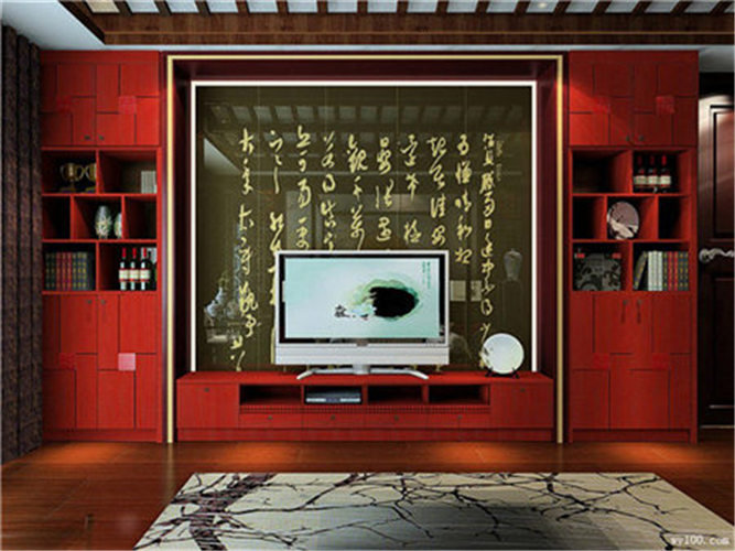 现代组合电视柜--维意定制网上商城