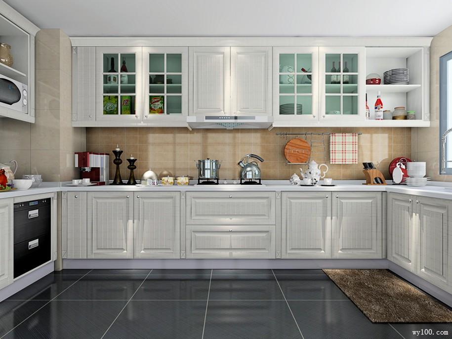 开放式厨房橱柜的柜边搭配选择方法有哪些