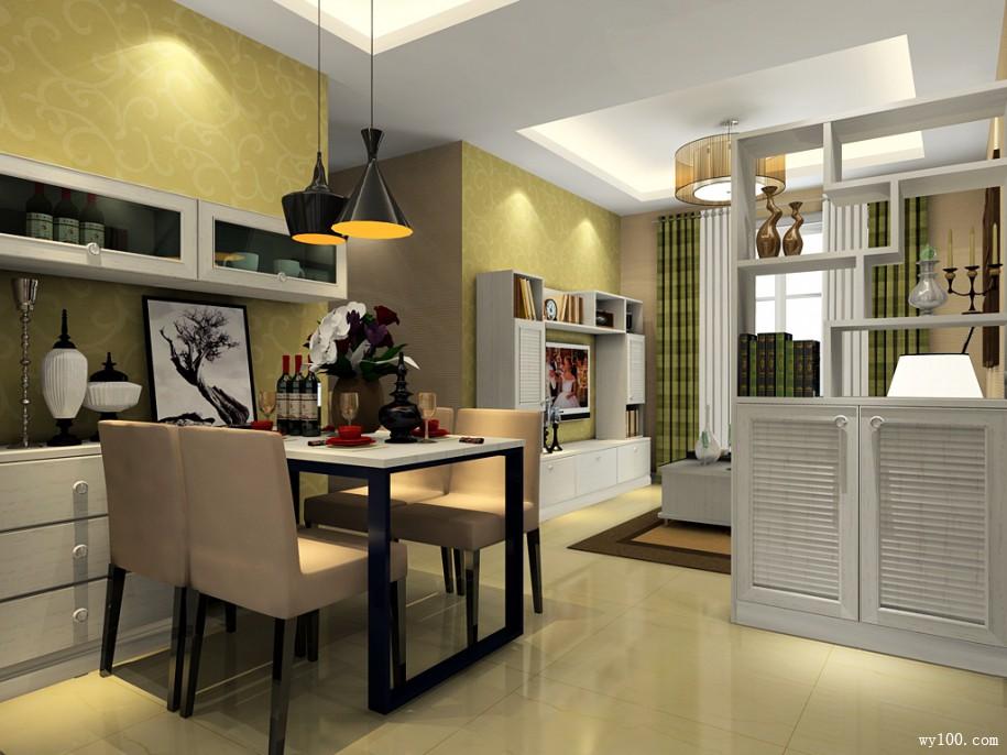 客厅屏风隔断柜造型怎样设计好?