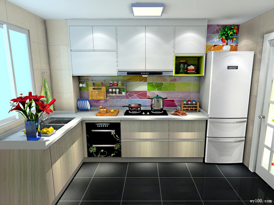 装修现代厨房有什么风格可选?