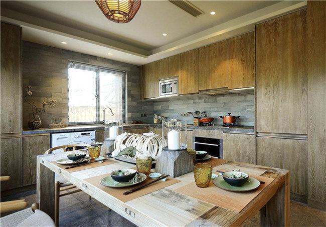 现代厨房设计理念--维意定制网上商城