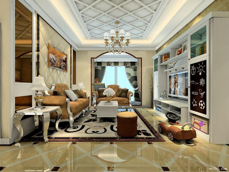多功能客厅装修改造出不一样的房子