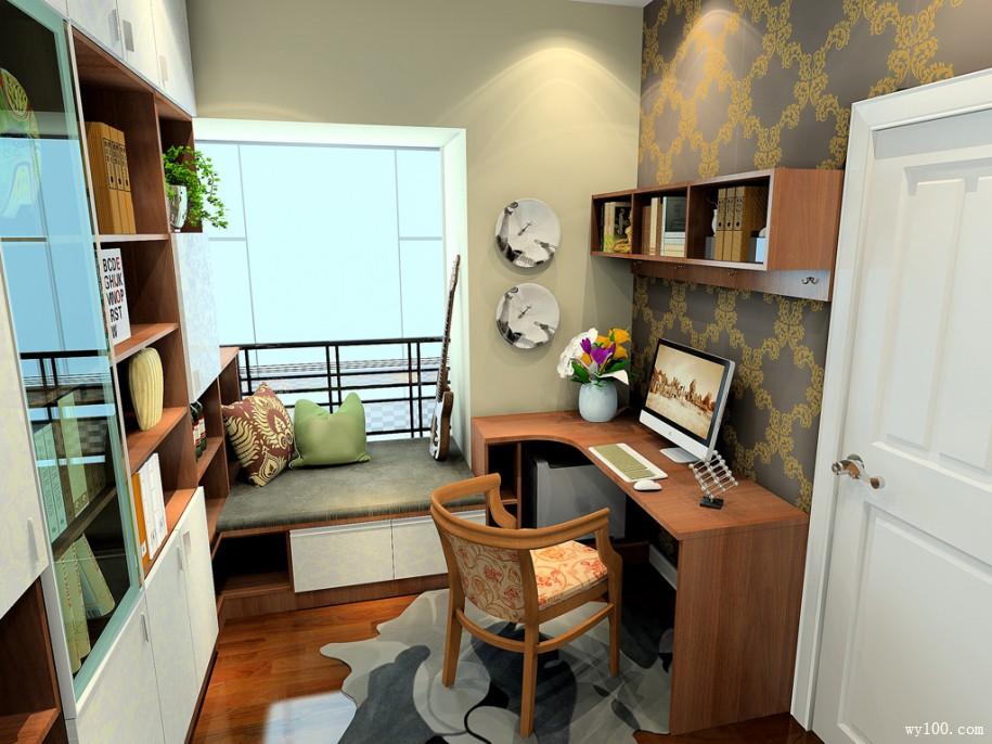 小书房要如何布置才美观实用