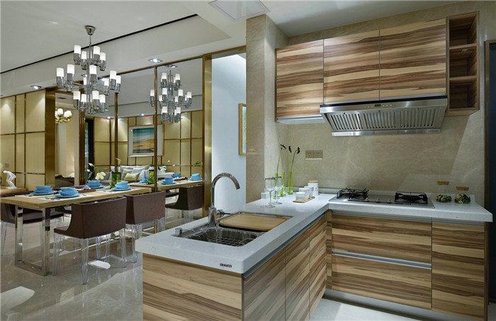 开放式厨房油烟问题--维意定制家具网上商城