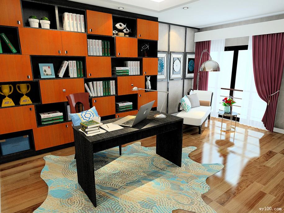巧用书房布置技巧,打造风格迥异书房