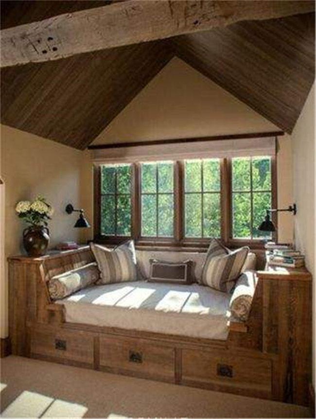 客厅的飘窗怎么设计--维意定制家具网上商城