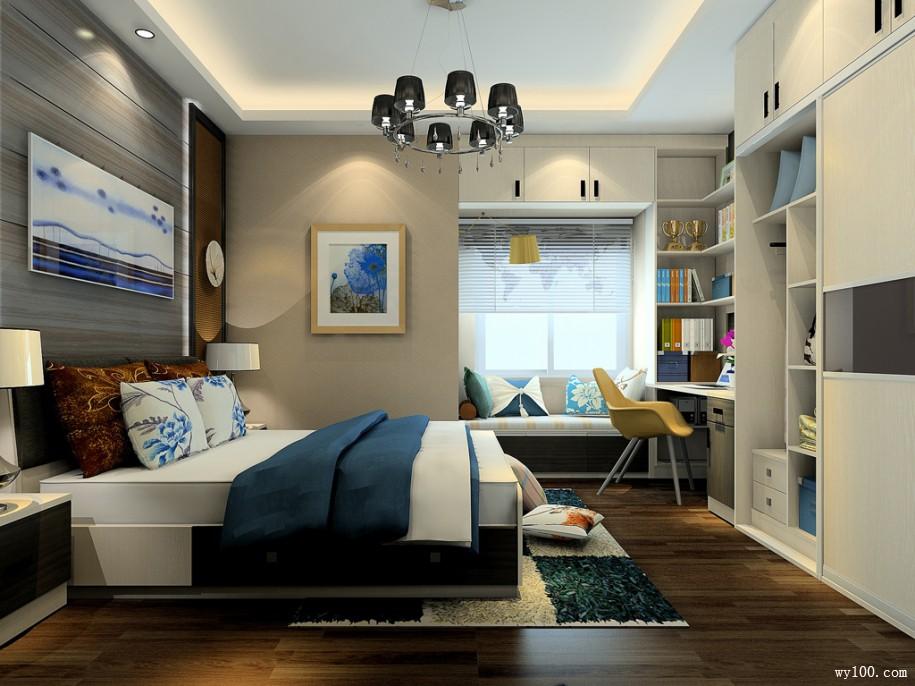 如何设计小卧室空间才能实现功能多用化?
