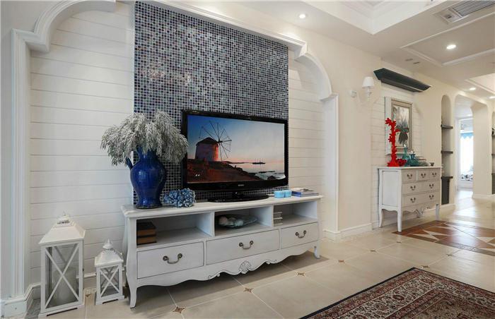 白色电视柜好看么--维意定制家具网上商城