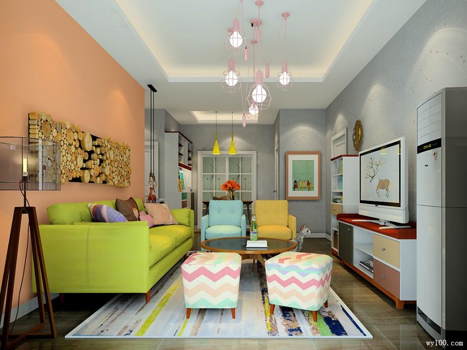 小户型客厅家具摆放技巧