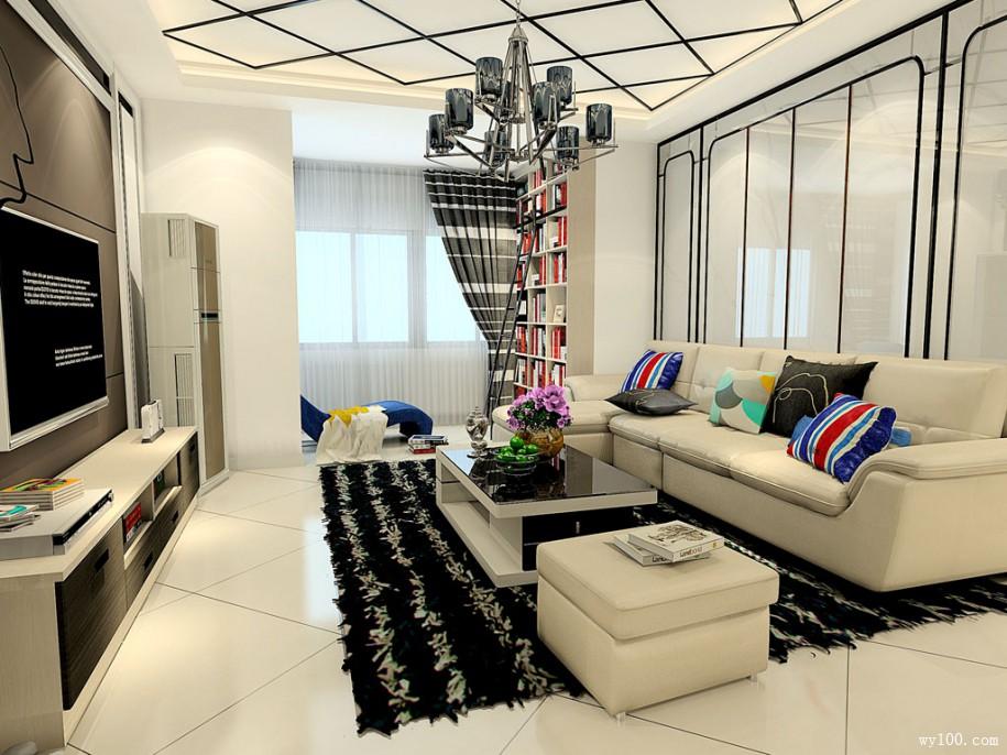 现代客厅家具颜色搭配需要注意什么