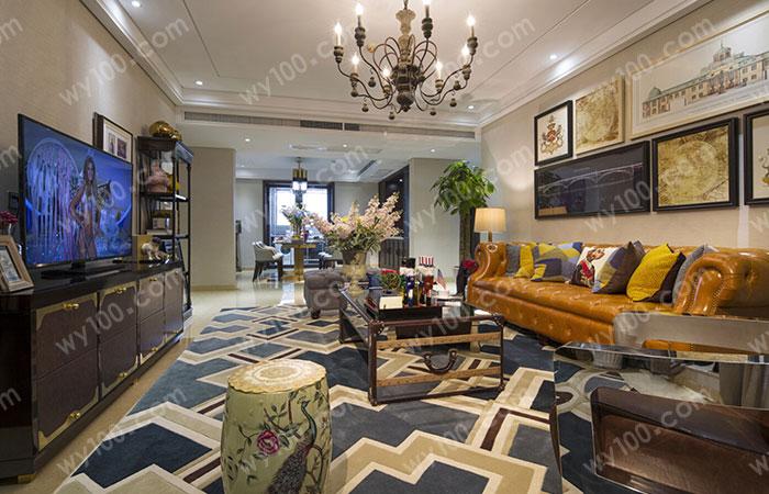 新中式客厅家具的特点是什么--维意定制家具网上商城