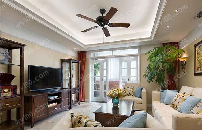 中式客厅家具颜色搭配--维意定制家具网上商城
