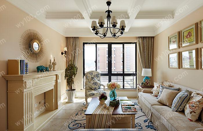 长方形客厅家具设计技巧--维意定制家具网上商城