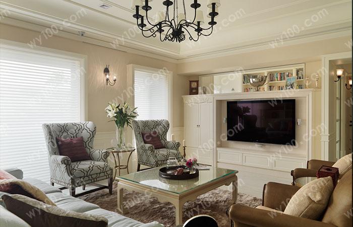 小户型客厅家具如何布局--维意定制家具网上商城