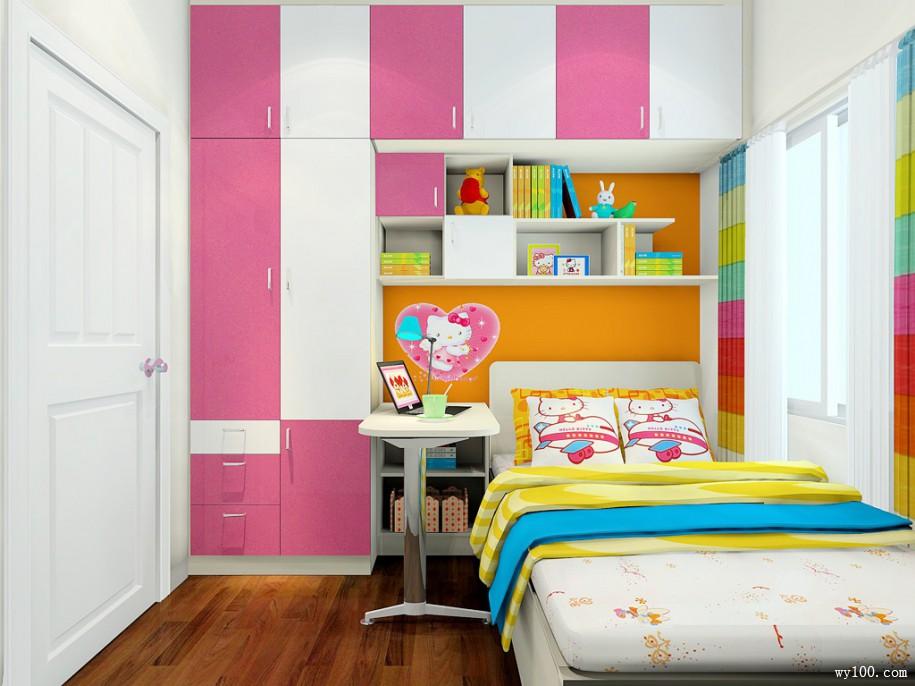 女孩儿童房墙纸的选择要注意什么