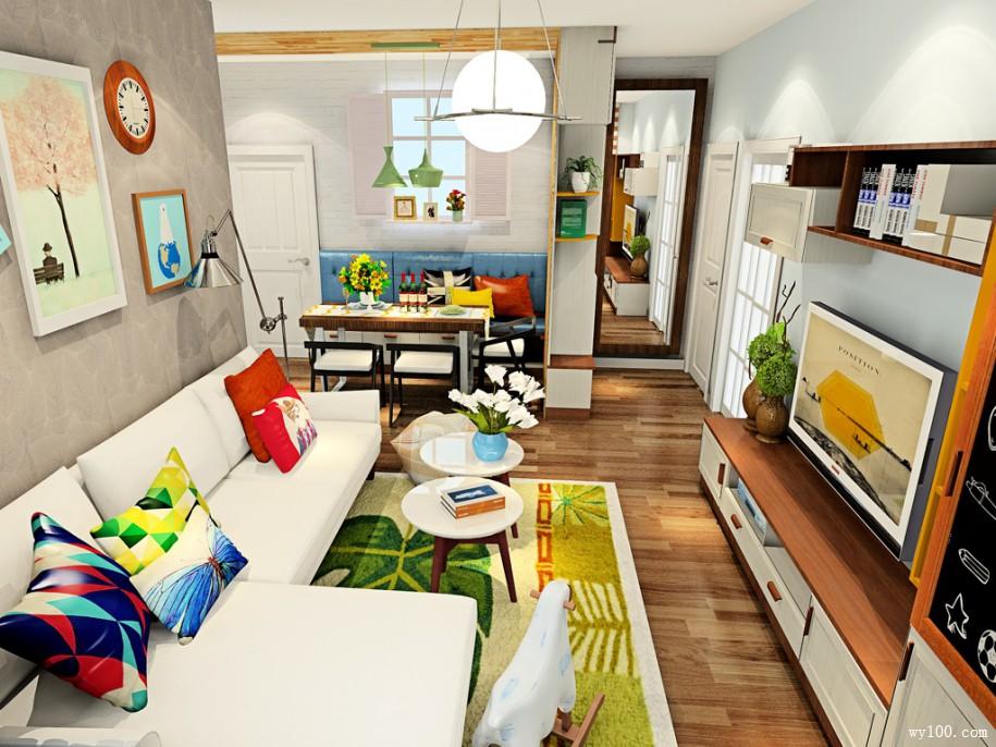 客厅装修颜色如何搭配
