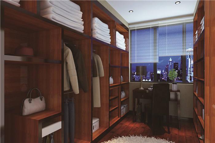 主卧有衣帽间和卫生间--维意定制家具网上商城