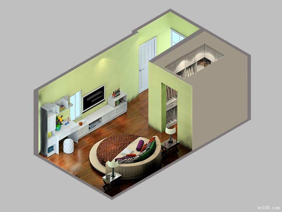小卧室带衣帽间设计要如何装修