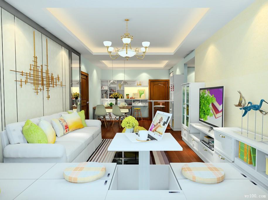 客厅组合沙发尺寸的选择