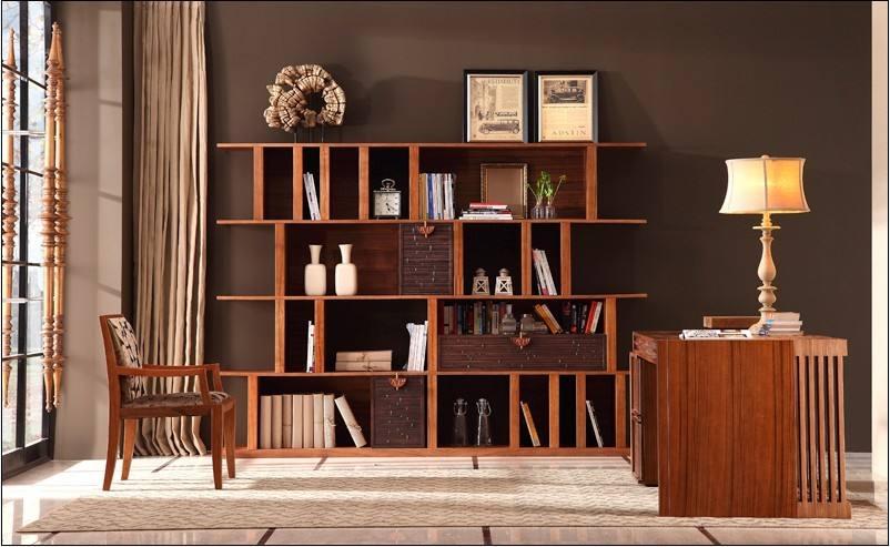 书柜款式有哪些--维意定制家具网上商城