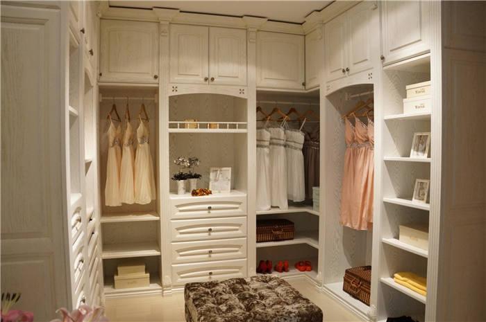步入式衣柜搭配--维意定制家具网上商城