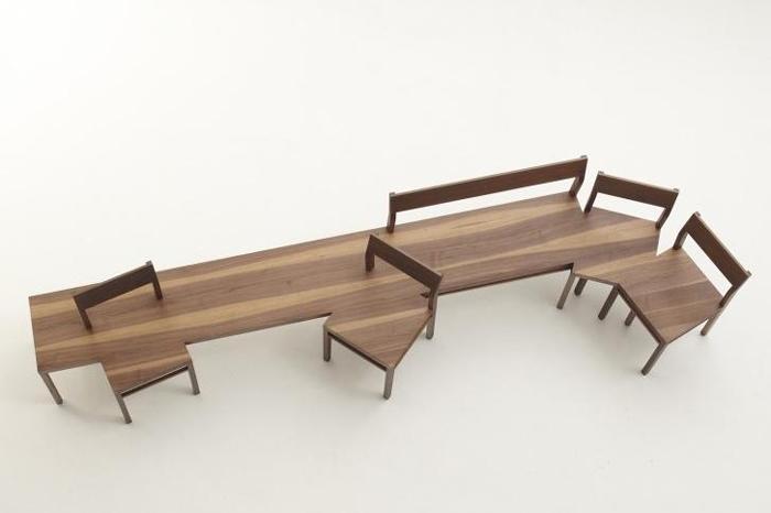 4款极具文案创意家居设计,独一无二的室内格式vi形象设计长凳个性图片