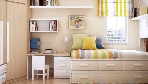 卧室转角书桌如何摆放--维意定制家具网上商城