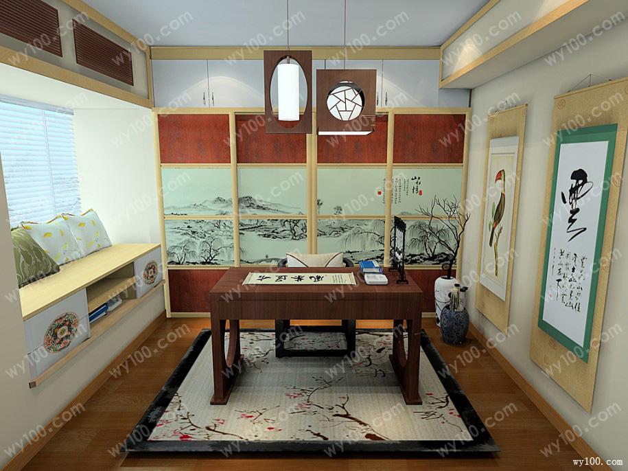 书房装饰设计搭配最基本的原则