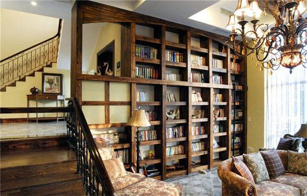 装修必读之客厅书房一体的装修设计