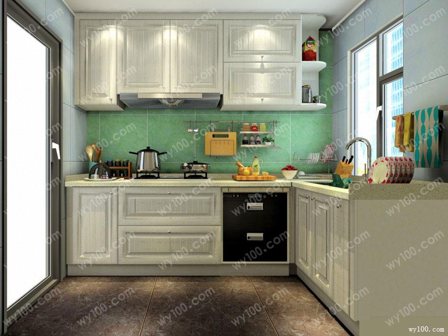 厨房的装修风格,主要在于选什么风格的砖