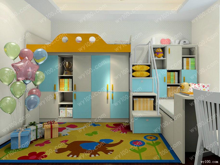 儿童房墙面颜色选择,带个孩子最好的搭配