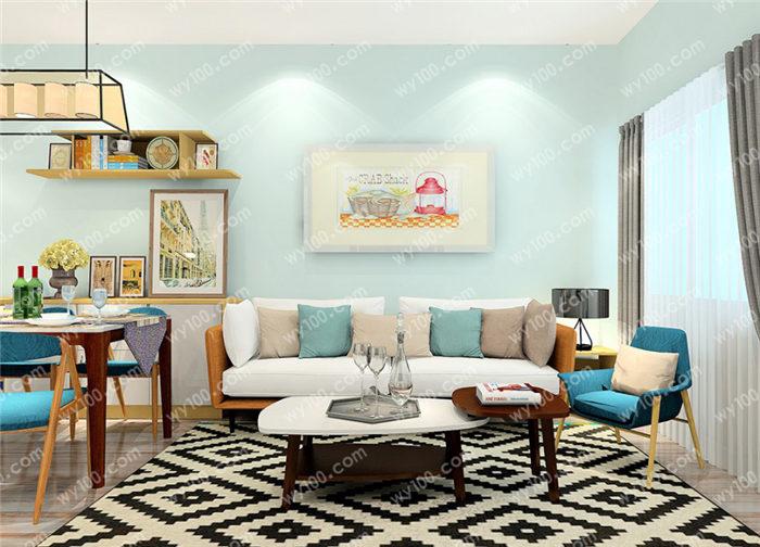 怎么设计客厅沙发背景墙更合适?